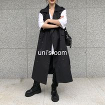 Casual Style Plain Long Office Style Elegant Style