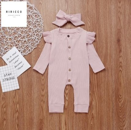 PatPat Co-ord Front Button Baby Girl Dresses & Rompers