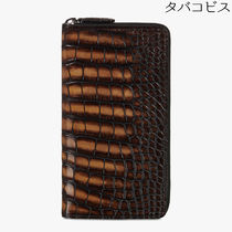 Berluti Calfskin Crocodile Other Animal Patterns Leather Bold