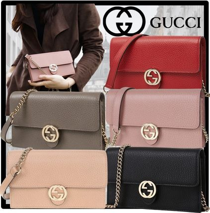 GUCCI Casual Style Shoulder Bags