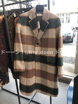 Dries Van Noten Other Plaid Patterns Long Chester Coats
