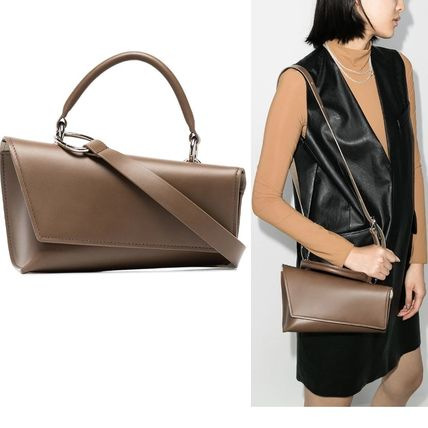 Casual Style Suede Plain Leather Office Style Elegant Style