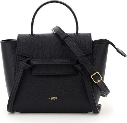 CELINE Belt Pico Belt Bag In Grained Calfskin