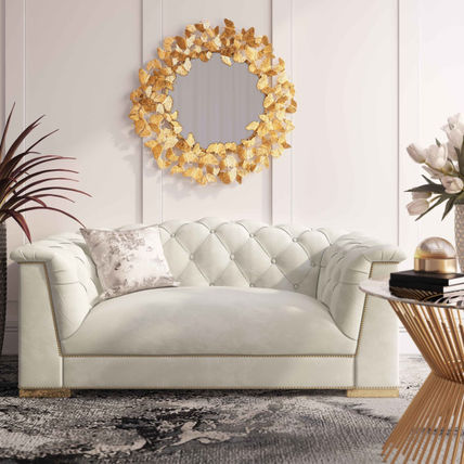 Studded Gold Furniture Vervet Furniture HOME