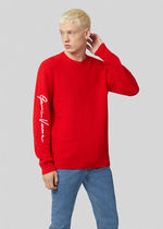 VERSACE Sweaters Crew Neck Wool Long Sleeves Logo Luxury Sweaters 8