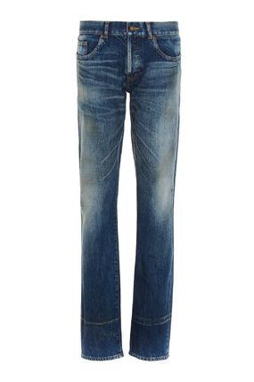 Saint Laurent More Jeans Plain Cotton Jeans 2
