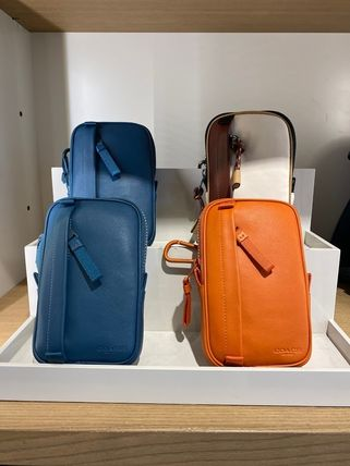 Coach North/South Hybrid Pouch In Colorblock