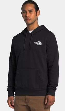 THE NORTH FACE Hoodies Pullovers Unisex Sweat Street Style Long Sleeves Plain Logo 8