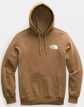 THE NORTH FACE Hoodies Pullovers Unisex Sweat Street Style Long Sleeves Plain Logo 12