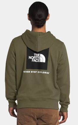 THE NORTH FACE Hoodies Pullovers Unisex Sweat Street Style Long Sleeves Plain Logo 13