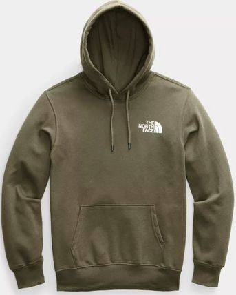 THE NORTH FACE Hoodies Pullovers Unisex Sweat Street Style Long Sleeves Plain Logo 15