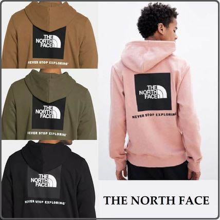 THE NORTH FACE Hoodies Pullovers Unisex Sweat Street Style Long Sleeves Plain Logo