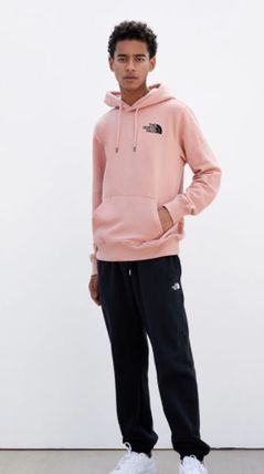THE NORTH FACE Hoodies Pullovers Unisex Sweat Street Style Long Sleeves Plain Logo 3