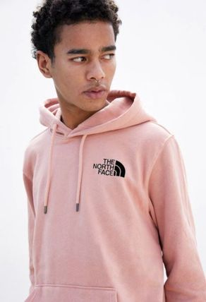 THE NORTH FACE Hoodies Pullovers Unisex Sweat Street Style Long Sleeves Plain Logo 5