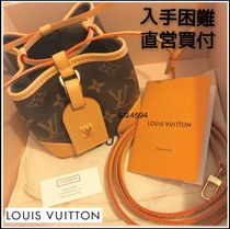 Louis Vuitton NOE Monogram Casual Style 2WAY 3WAY Leather Party Style