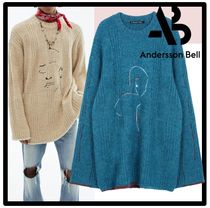 ANDERSSON BELL Unisex Street Style Sweaters