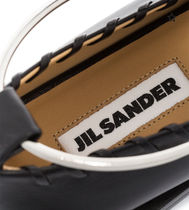 Jil Sander Platform Casual Style Leather Office Style Espadrille Shoes