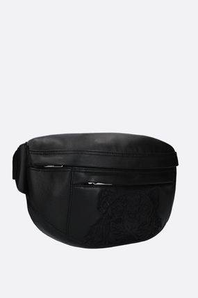 KENZO Plain Other Animal Patterns Leather Belt Bags