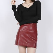 Short Street Style Plain Mini Skirts