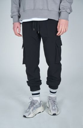 AT THE MOMENT Cargo Unisex Street Style Plain Cargo Pants 2