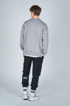 AT THE MOMENT Cargo Unisex Street Style Plain Cargo Pants 3