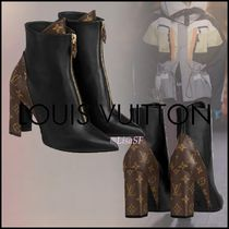 Louis Vuitton MONOGRAM Matchmake Ankle Boot