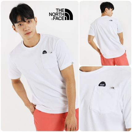 THE NORTH FACE More T-Shirts Zebra Patterns Studded Plain Outdoor T-Shirts