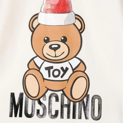 Moschino Unisex Holiday Themed Baby Girl Dresses & Rompers