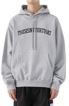 thisisneverthat Hoodies Unisex Street Style Long Sleeves Cotton Logo Hoodies 12