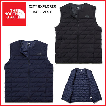 THE NORTH FACE Vests & Gillets Plain Logo Outdoor Vests & Gillets