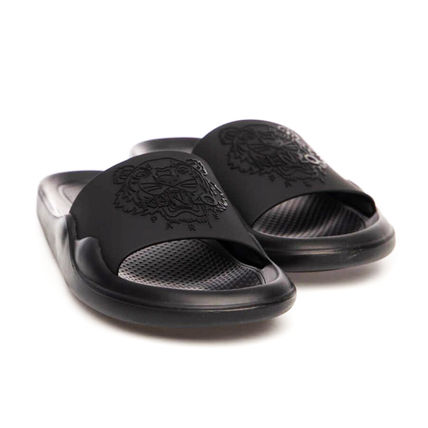 KENZO Flipflop Logo Unisex Street Style Sport Sandals Shower Shoes