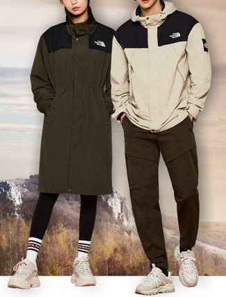 THE NORTH FACE MARTIS Unisex Street Style Coats