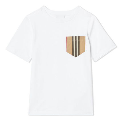 Burberry Street Style Cotton T-Shirts