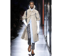 Christian Dior Plain Leather Trench Coats