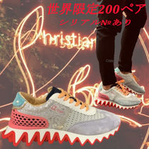 Christian Louboutin Loafers Street Style Leather Dad Sneakers Logo Sneakers