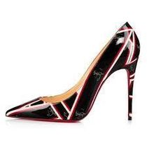 Christian Louboutin So Kate Leather Pin Heels Party Style Elegant Style
