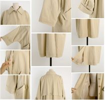 INDIBRAND Trench Casual Style Plain Long Party Style Office Style Oversized 16