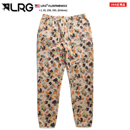Printed Pants Camouflage Unisex Street Style
