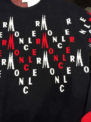 MONCLER Sweaters Wool Logo Sweaters 2