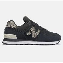 New Balance 574 Rubber Sole Casual Style Plain Logo Low-Top Sneakers