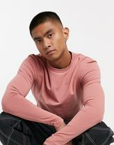 ASOS Long Sleeve Crew Neck Pullovers Street Style Long Sleeves Plain Cotton 13