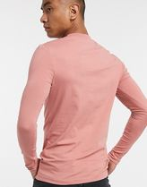 ASOS Long Sleeve Crew Neck Pullovers Street Style Long Sleeves Plain Cotton 14