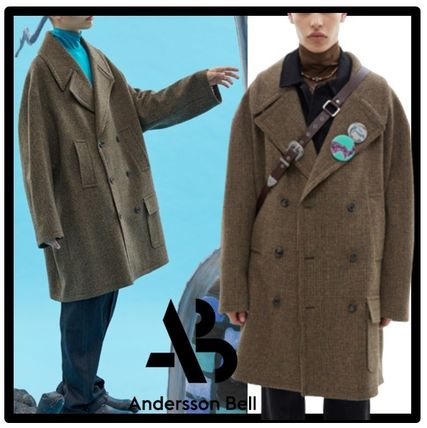 ANDERSSON BELL Unisex Street Style Coats