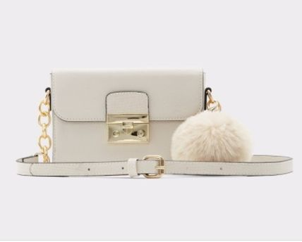 Casual Style Faux Fur Plain Other Animal Patterns Crossbody