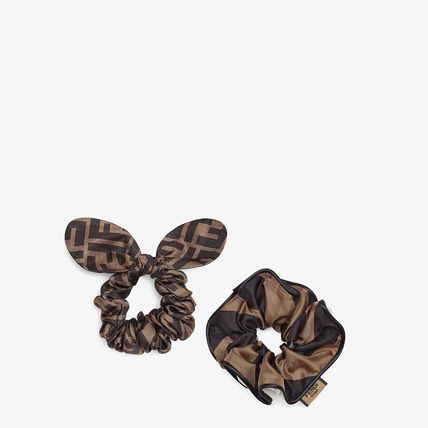 FENDI Scrunchy Casual Style Blended Fabrics Party Style Halloween