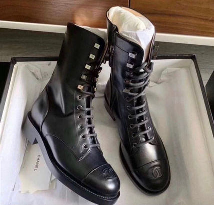 CHANEL TIMELESS CLASSICS Mid Heel Boots