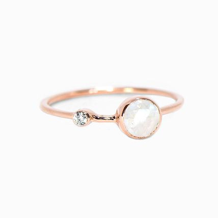 Ron Herman Unisex Street Style Bridal Rings