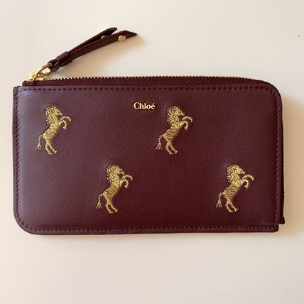 Chloe Leather Card Holders