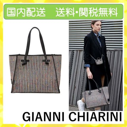 Casual Style A4 Office Style Elegant Style Totes