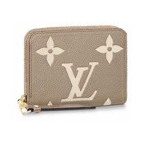 Louis Vuitton ZIPPY COIN PURSE Monogram Unisex Leather Small Wallet Coin Cases